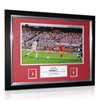 Aston Villa Limited Edition 1982 Peter Withe Signed Framed Photo