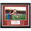 Aston Villa Limited Edition 1981 Denis Mortimer Signed Framed Photo