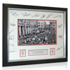 Aston Villa Limited Edition 1981 League Winners Signed Crowd Framed Photo