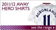 2011/12 Away Hero Shirts
