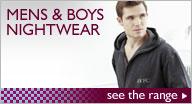 Mens & Boys Nightwear!